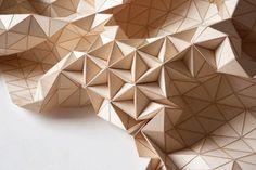Tessili di legno - designer Elisa Strozyk