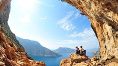 Unknown Greece: Climbing on the island of Kalymnos Amazing Places On Earth, Oh The Places You'll Go, Beautiful Places, Places To Visit, Travel Channel, Adventure Is Out There, Greek Islands, Rock Climbing, Vacation Spots