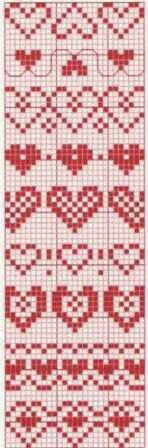 Could be used for a multitude of things… Fair Isle Knitting Patterns, Knitting Charts, Knitting Stitches, Knitting Designs, Knit Patterns, Cross Stitch Patterns, Heart Patterns, Cross Stitch Bookmarks, Cross Stitch Heart
