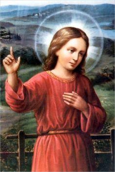Jézusunk telintete mindig ragyogó és szép