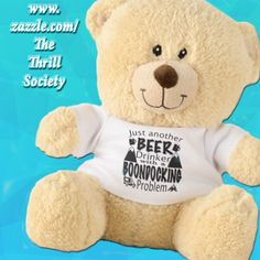More products with this design at: http://www.zazzle.com/tts_travel #teddybear #stuffedbear #teddy #boondocking #boondocker