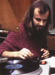 John Peel ... 1969 in London for a taping of Alex and Lindsey