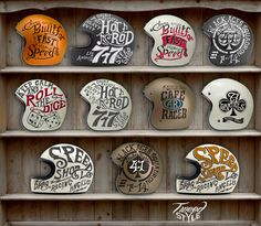 Helmet Private Collection by TWEED Style , via Behance