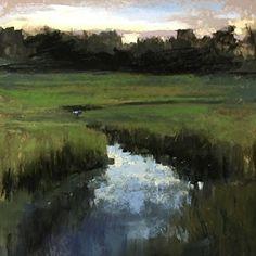 Shem Creek No. 1 by Bethany Fields Pastel ~ 9 x 9