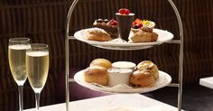Afternoon tea at The Waldorf Hilton - What a 'moment' that would be - I'll hunt out my best frock...