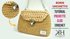 "HOW TO MAKE CROCHET BAG ""Cloe"" with T-SHIRT YARN [SUB ENG] ● Katy Handmade"