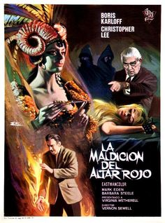 The Curse of the Crimson Altar (1968) poster