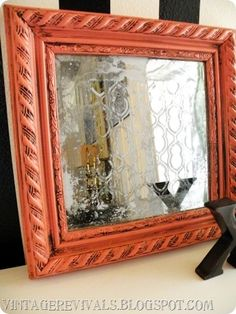 DIY - Acid Mirror using Paint Striper   Muriatic Acid. Full Step-by-Step Tutorial. *Muriatic acid is used to neutralize pool water and can be found at Home Depot or Lowes.