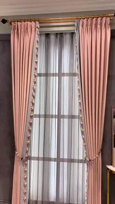 Curtains Living Room, Living Room Decor Curtains, Curtains, Curtain Decor, Diy Curtains, Home Curtains, Room Decor, Curtains With Blinds, Luxury Curtains