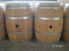 59 Gallon American Oak  Real Kentucky Wine Barrels  BUY THESE WINE BARRELS  FOR JUST $99 EACH