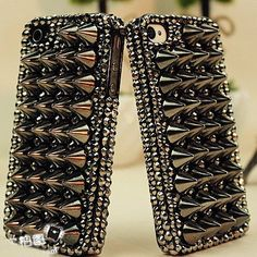 studded case by fashiongalaxys4, $18.99 available for Samsung galaxy S3, S4, note 1, 2, 3, iPhone 4, 4s, 5, 5S
