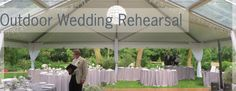If you are getting married this summer, you are probably nearly overworking yourself with all the planning. Lucky for you, we have put together this stress-reducing guide to holding an outdoor wedding rehearsal dinner. Chicago Wedding Venues, Luxury Wedding Venues, Wedding Rehearsal, Rehearsal Dinners, Outdoor Dinner Parties, Wedding Dance Songs, Inexpensive Wedding Venues, Event Themes, Spring Wedding
