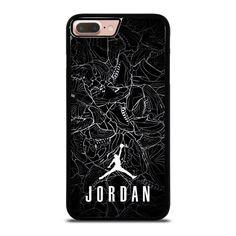 AIR JORDAN SHOES COLLAGE LOGO iPhone 8 Plus Case - Best Custom Phone Cover  Cool Personalized