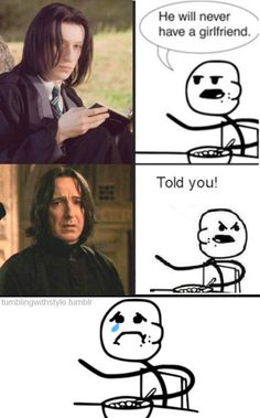 actually, this is funny eventhough I love Snape