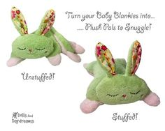ITH Bunny Pro Grow with Me Baby Blanket Pattern - Dolls And Daydreams