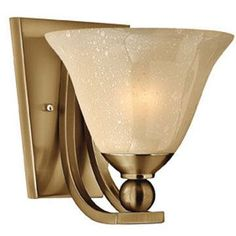 Hinkley Lighting H4650 1 Light Indoor Wall Sconce from the Bolla Collection