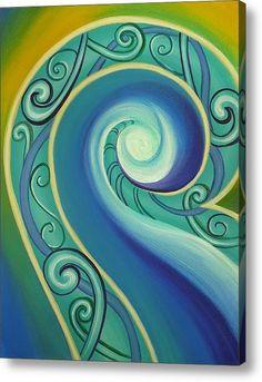 Tribal Waves Featured Images - Tribal Ocean by Reina Cottier Nz Art, Maori Art, Wave Art, Thing 1, Ocean Art, Art Pages, Fine Art America, Wall Art Prints, Original Paintings