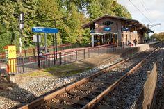 Station Ermelo, in de 19e eeuw aangelegd.