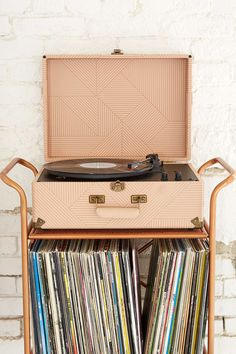 Crosley X UO AV Room Geo Portable USB Vinyl Record Player - $169 - now $140 - urbanoutfitters.com