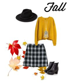 """Fall"" by yolaash on Polyvore featuring Lands' End, H&M, MANGO and Full Tilt"