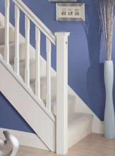 Outstanding Wooden Staircases From The UK's Staircase Manufacturer. Design & Order Your Custom Timber Staircase Using Our Online Builder Tool Staircase Spindles, Timber Staircase, Wooden Staircases, Stairs, Stair Builder, Staircase Manufacturers, Toddler Bed, House, Furniture
