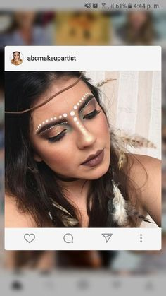 Gesichtsbemalung Karneval Hair - Healthy Hair, Your Best Feature! Tribal Makeup, Hippie Makeup, Boho Makeup, Rave Makeup, Makeup Inspo, Music Festival Makeup, Festival Hair, Tribal Face Paints, Make Carnaval