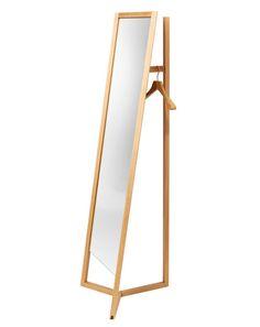 Design collective Something, Daniel Debiasi and Federico Sandri, have created Club, a freestanding full-length mirror / wardrobe combination.