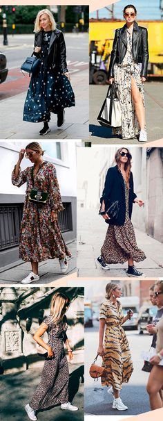 Ideas For Fashion Clothes Women Style Moda Spring Dresses Casual, Nice Dresses, Dress Casual, Spring Skirts, Casual Clothes, Boho Outfits, Fashion Outfits, Womens Fashion, Sneakers Fashion