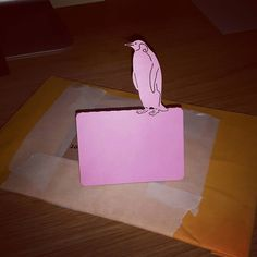 Penguin place names ready to go! #order #jld #new #pink #placenames #etsy #etsygifts #wedding