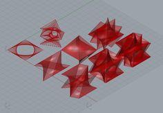 studio della generazione di spazi a partire da forme geometriche semplici