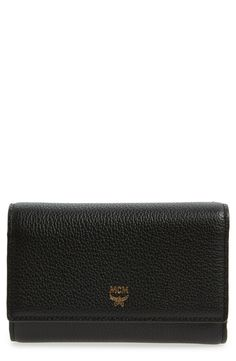 MCM 'Milla' Leather French Wallet