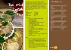 Thai Inspire Vegetable Soup.  Visit http://vegetarianbody.com/wp-content/uploads/recipe-volume-1.pdf