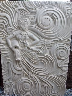 Relief Wall Carving With Goddess Of Water Design , Find Complete Details about Relief Wall Carving With Goddess Of Water Design,Bali Carving,Stone,Carving from Stone Reliefs Supplier or Manufacturer-CV. Clay Wall Art, Mural Wall Art, Mural Painting, Clay Art, Wall Art Decor, Canvas Paintings, Plaster Art, Tanjore Painting, Sculpture Clay