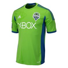 adidas Seattle Sounders 2013 Home Soccer Jersey