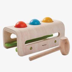 PlanToys / Hamerspel met ballen