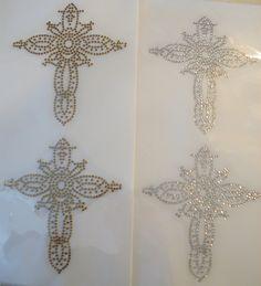 Intricate Crosses Gold or Silver  bling by BlingIsTheNewBlack, $3.99