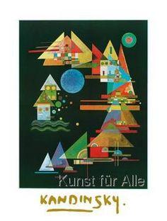 Wassily Kandinsky - Spitzen im Bogen, 1927