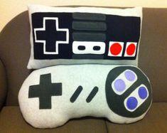 Items similar to Nintendo NES Controller Pillow on Etsy