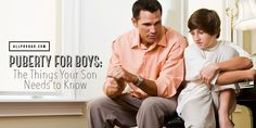 Puberty for boys is a confusing time. Preparing sons in advance is the best way to guide them through it.