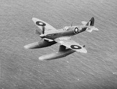 Experimental Spitfire Mk Vb float variant in... - British Eevee