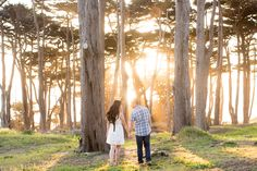 Sutro Baths & Lands End Engagement Session - San Francisco: Renee Hoang Photography