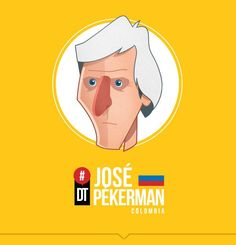 José Nestor Pekerman by Petirojo Football Art, World Football, Good Soccer Players, Football Players, World Cup 2014, Caricature, Character Inspiration, Disney Characters, Fictional Characters