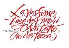 Calligrafie di Luca Barcellona
