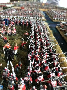 Benno's Figures Forum • Waterloo Squares Bataille De Waterloo, British Army Uniform, Battle Of Waterloo, Military Diorama, Napoleonic Wars, Toy Soldiers, Christmas Tree, Holiday Decor, Squares