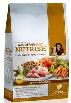 Rachael Ray Nutrish Healthy Weight Dry Dog Food, Turkey Recipe, 6-Pound Bag - http://www.thepuppy.org/rachael-ray-nutrish-healthy-weight-dry-dog-food-turkey-recipe-6-pound-bag/