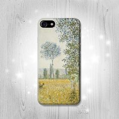 Claude Monet Fields In Spring Case For iPhone 7 7 by Lantadesign