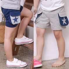 >> Click to Buy << Kz-1708 2017 Summer Wear Korean New Pattern Stars Pocket Catamite Girl Children's Garment Baby Children Shorts Pants  #Affiliate