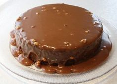 Sarah Bernhardt i langpanne - krem.no Norwegian Food, Cake Tutorial, No Bake Cake, Cake Cookies, Fudge, Chocolate Cake, Baked Goods, Cravings, Cake Recipes