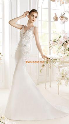 Printemps 2014 Col en V Empire Robes de mariée 2014