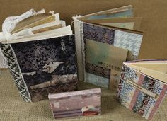 Ordre Du Jour - handmade journals, agendas and planners with the new collection from 7gypsies